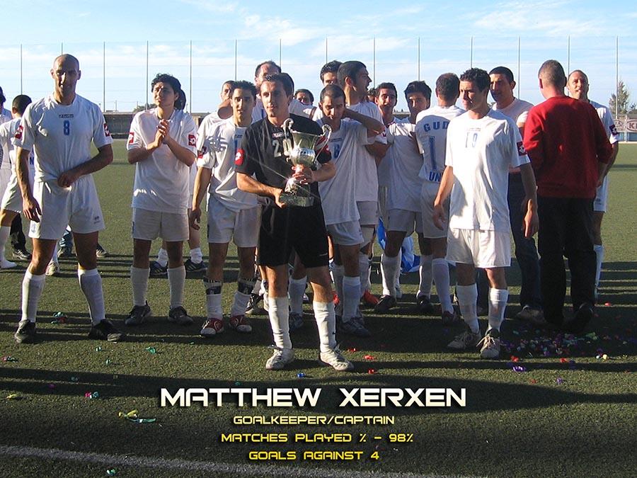 Matthew Xerxen 04/05