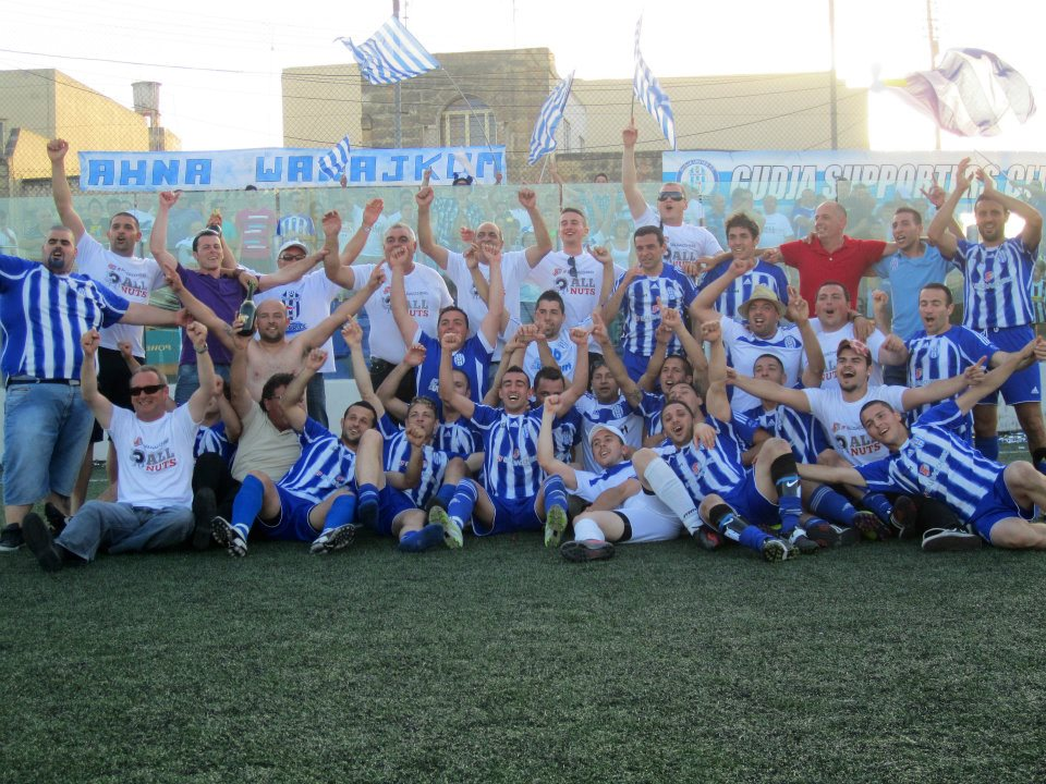 2012 Promotion to First Division