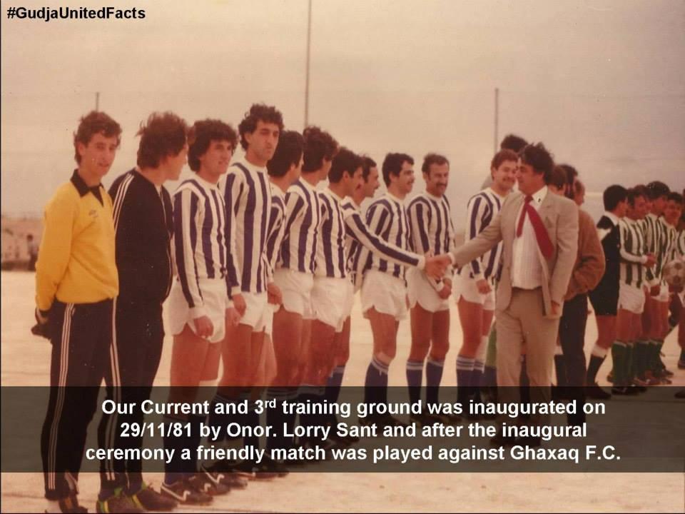 1981 - Gudja stadium Inauguration